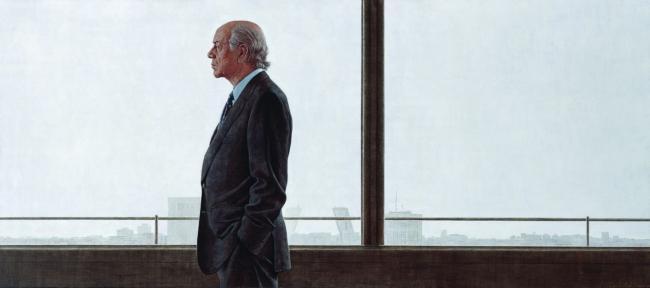 "Hernán Cortés, Retrato acrílico ""Francisco González"". 2004-2007. Colección particular — Cortesía del Espacio Fundación Telefónica"
