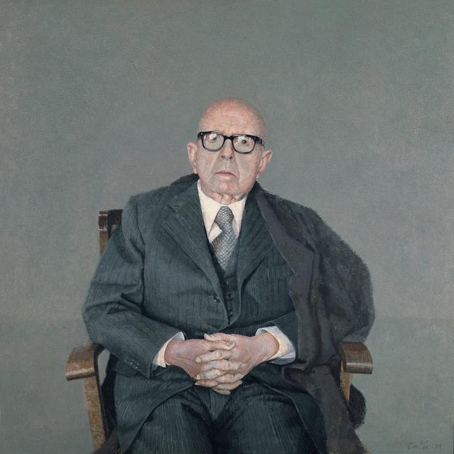 "Hernán Cortés, ""Dámaso Alonso"", 1984 — Cortesía del Espacio Fundación Telefónica"