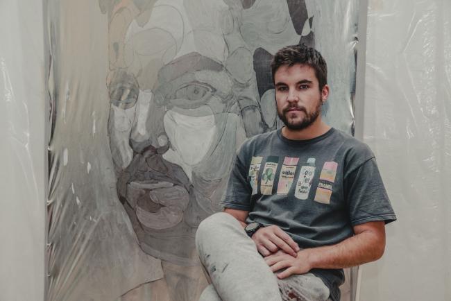 Taquen, Arte con Punch – Cortesía de Ponche Caballero & [ES]POSITIVO | Ir al evento: 'Arte con Punch'. Concurso de Arte urbano, Pintura