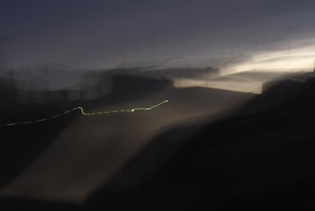 Way of Light I, 2010. 33 x 58 cm. Inyección de tinta pigmentada sobre papel de algodón. Pigment on rag paper, inkjet © Thomas Nölle – Cortesía del Museo del Romanticismo | Ir al evento: 'By the Way'. Exposición de Fotografía en Museo del Romanticismo (antiguo Museo Romántico) / Madrid, España