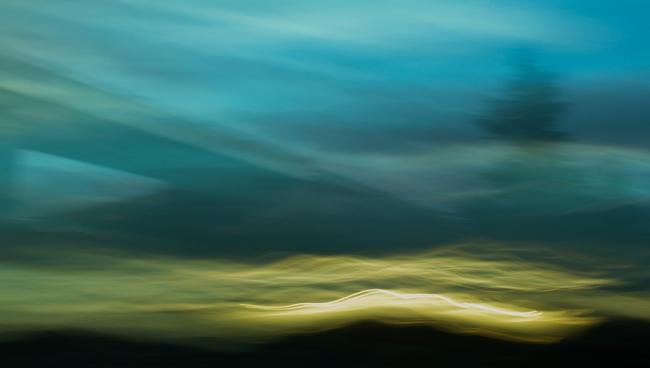Thomas Nölle, Badajoz » Lisboa (Serie By the Way), 2013. 60,5 x 107 cm. Inyección de tinta pigmentada sobre papel de algodón © T.Nölle – Cortesía del Museo del Romanticismo