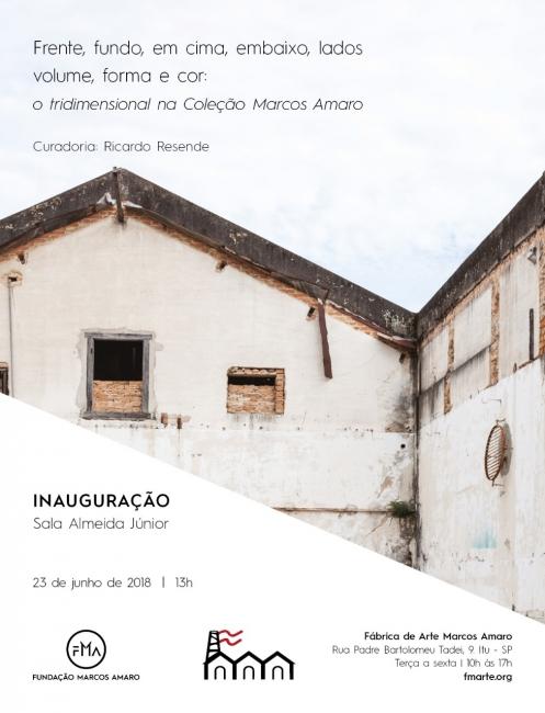 O tridimensional na coleção Marcos Amaro