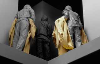 Juan Muñoz, Double Bind -detalle-, 2001. Tate Modern, London 2001. Photo © Attilio Maranzano. Courtesy The Estate of Juan Muñoz, Madrid
