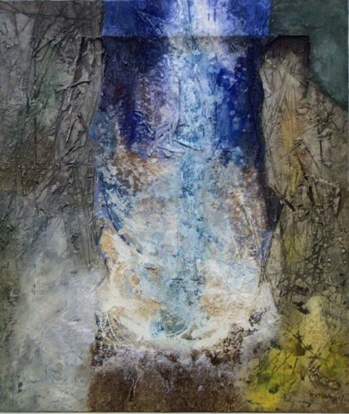 José Portilla, EL HABLAR DEL AGUA, Ref. 34-15, 89x76 cm.