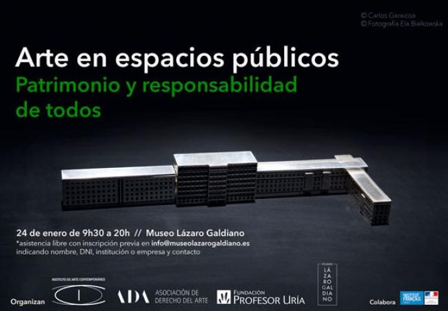 Arte en espacios públicos. Patrimonio y responsabilidad de todos