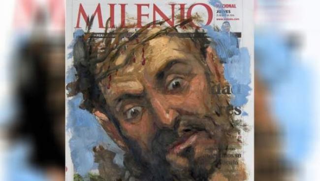 Portada de 'Diario Milenio' de Darío Ortiz. Cortesía de Katalina Garzón