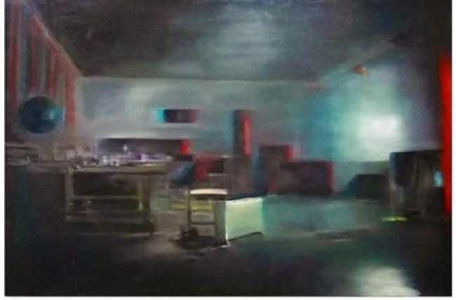 Eduard Resbier. Atelier-Piramidón. 130 x 195 cm. – Cortesía de Piramidón, Centre d'Art Contemporani