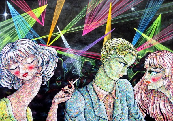 Fiesta de colores | Ir al evento: 'Universo de Colores'. Exposición de Pintura en Francisco Duayer / Madrid, España