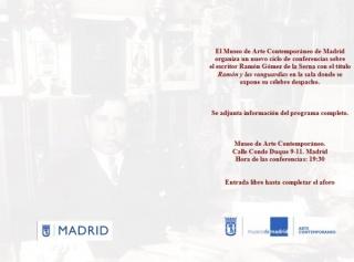 Ciclo de conferencias: Ramón y las Vanguardias