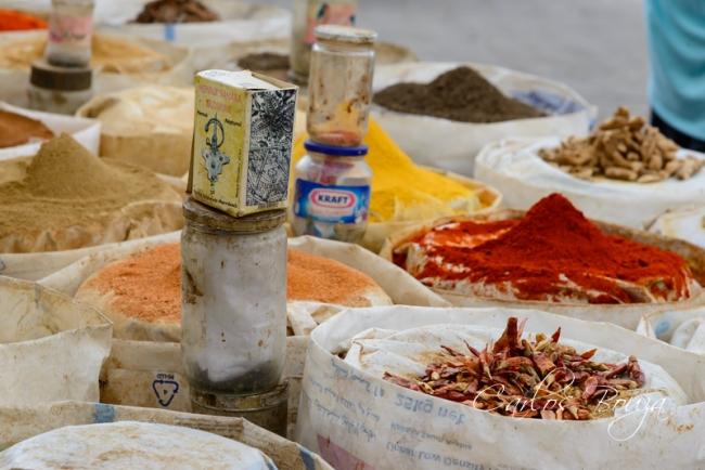 Mercado de especias | Ir al evento: 'Chefchauen. La ciudad azul de Marruecos'. Exposición de Fotografía en Martín Iglesias - Sierpes / Sevilla, España