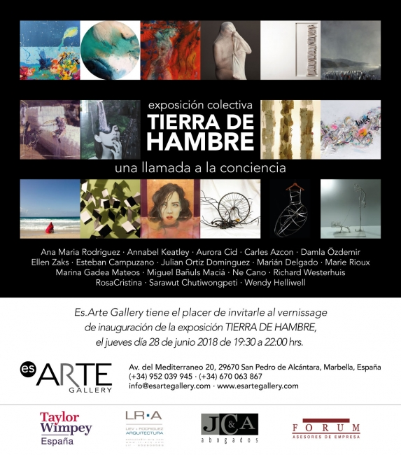 Resultado de imagen de Exposición TIERRA DE HAMBRE