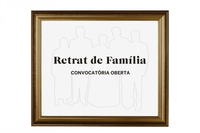 Convocatoria abierta para la participación en la exposición: Retrato de familia