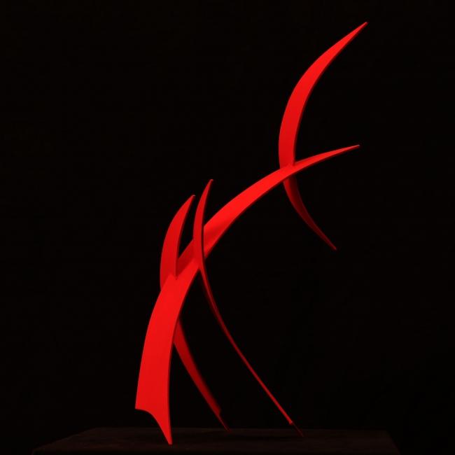 Abrazando el silencio del viento | Ir al evento: 'Teo. San José. Esculturas para un jardín Zen'. Exposición de Escultura en Klein-Schreuder parque de esculturas / L' Alfàs del Pi, Alicante, España