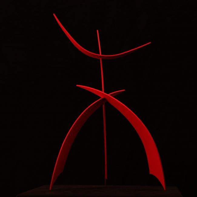 Torii de la Humanidad | Ir al evento: 'Teo. San José. Esculturas para un jardín Zen'. Exposición de Escultura en Klein-Schreuder parque de esculturas / L' Alfàs del Pi, Alicante, España