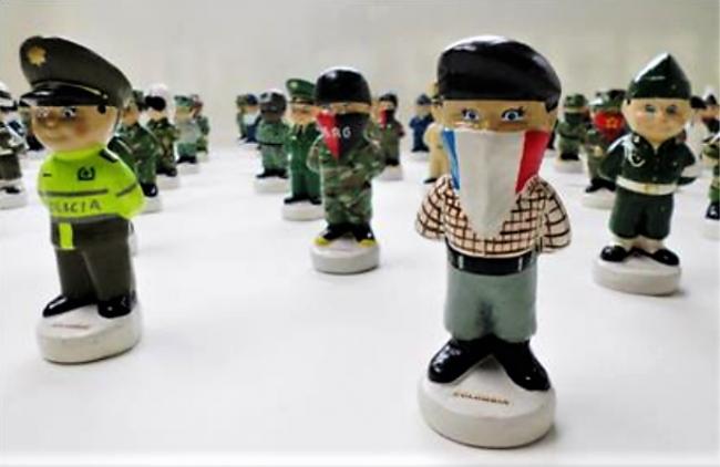 Oswaldo Rocha – Souvenir. | Ir al evento: 'Salón de Arte Soacha 2017'. Exposición de Arte digital, Arte sonoro, Escultura, Fotografía, Pintura en Centro Colombo Americano - Bogotá - Sede Soacha / Bogotá, Distrito Especial, Colombia