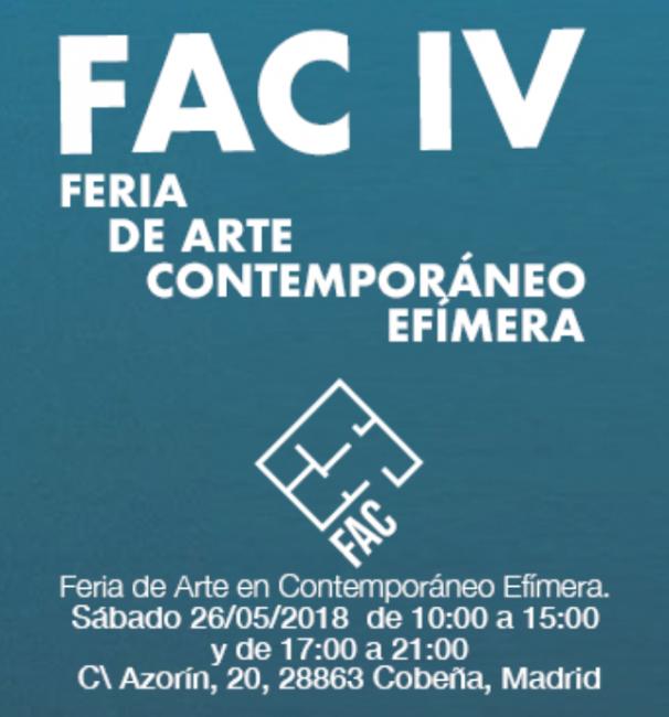 IV Feria de Arte Contemporáneo en mi casa - FAC