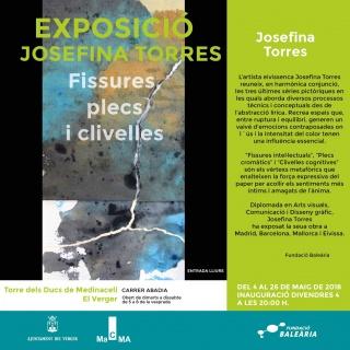 Josefina Torres. Fissures, plecs i clivelles
