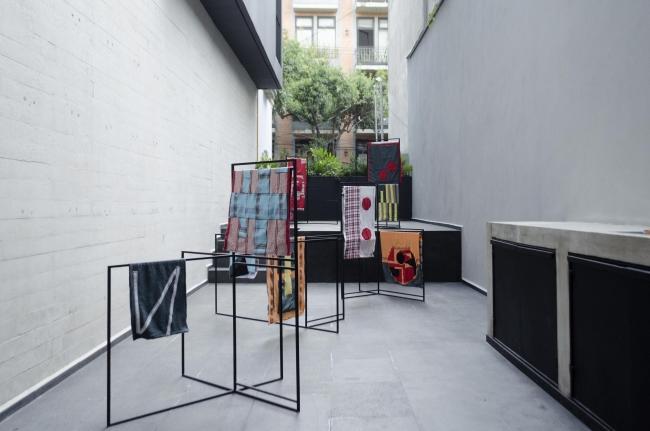 Vista de la exposición – Cortesía de arróniz arte contemporáneo