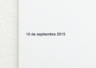 Diario de sueños . Septiembre