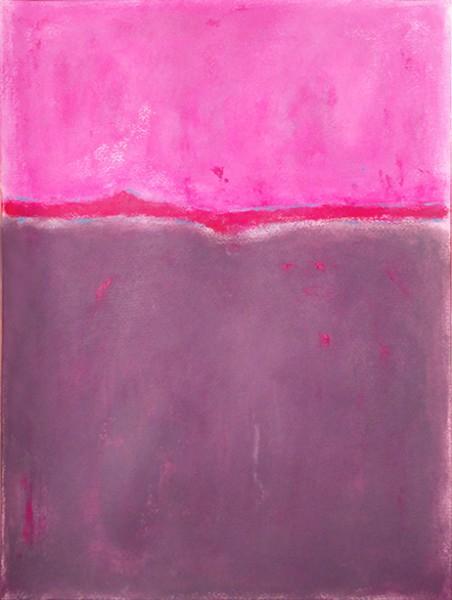 Across of pink (40x30)