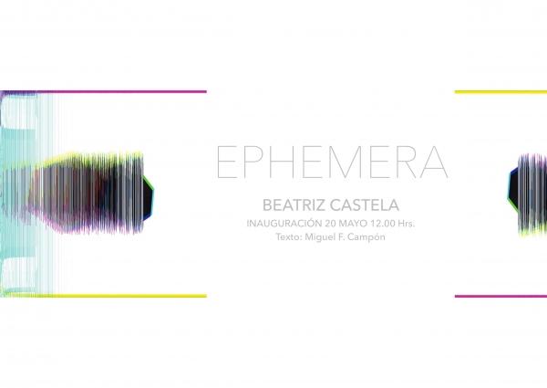 Cartel EPHEMERA.