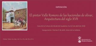 El pintor Valle Romero de las haciendas de olivar.