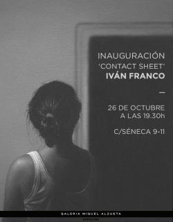 Iván Franco. Contact Sheet