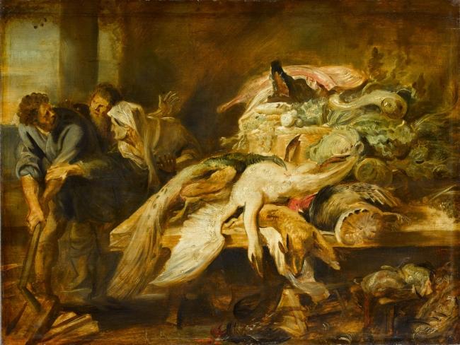 Filopómenes descubierto, Rubens. Óleo sobre tabla, 50x66 cm h. 1609 - 1610 París, Musée du Louvre, Département des Peintures, Legs Dr Louis La Caze, 1869 – Cortesía del Museo del Prado
