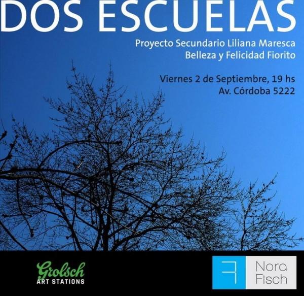 Dos escuelas. Proyecto Secundario Liliana Maresca y Belleza y Felicidad Fiorito