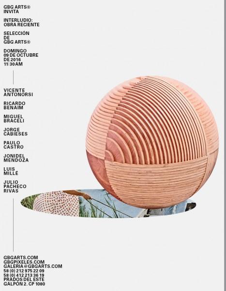 Invitación Exhibición # 29 Interludio: «Obra Reciente»