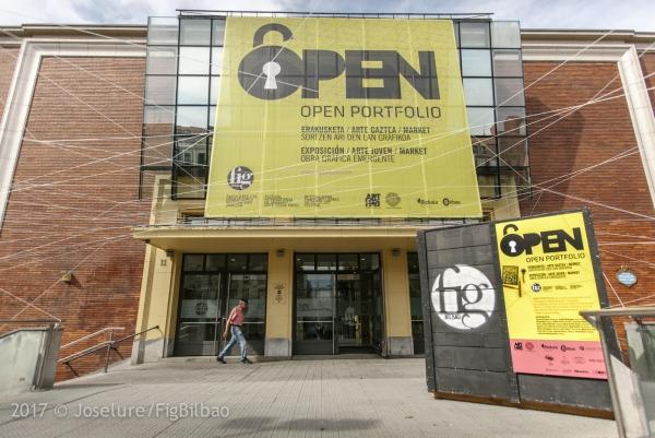 Edificio Ensanche, sede de Open Portfolio (Bilbao) | Ir al evento: 'IV edición del Open Portfolio Octubre - FIG Bilbao 2017'. Concurso