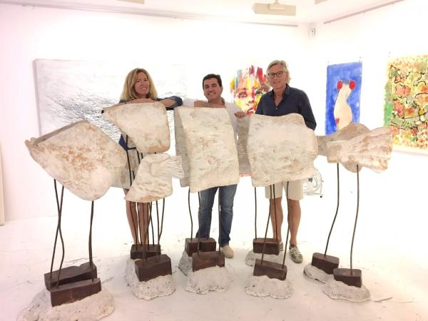 SOLITARIO | Ir al evento: 'Solitario'. Exposición de Escultura en Ahoy Art Gallery Palma / Palma, Baleares, España