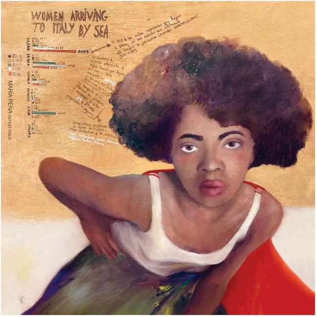 María Peña — Imagen cortesía de la Fundación Montemadrid