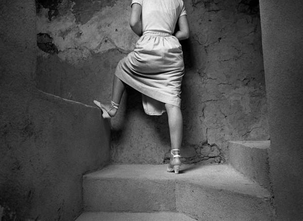 © Juan Manuel Castro Prieto. Subida al sobrao, 1985