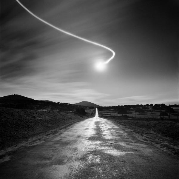 © Juan Manuel Castro Prieto. Carretera de Cespedosa, 1987