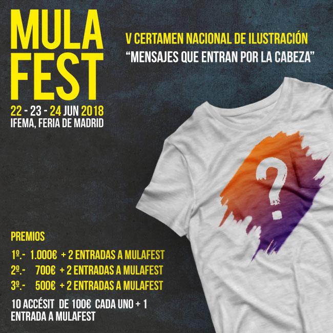 V CERTAMEN NACIONAL DE ILUSTRACIÓN MULAFEST - DGT