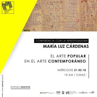 EL ARTE POPULAR EN EL ARTE CONTEMPORÁNEO. Imagen cortesía MACZUL