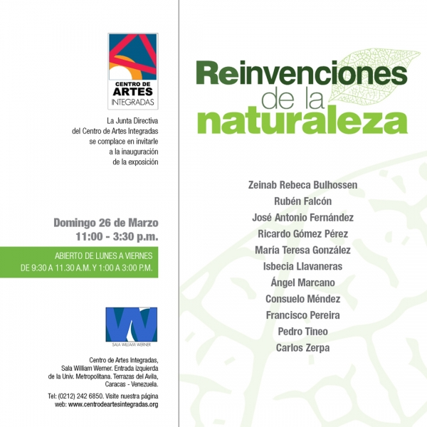 Reinvenciones de la naturaleza