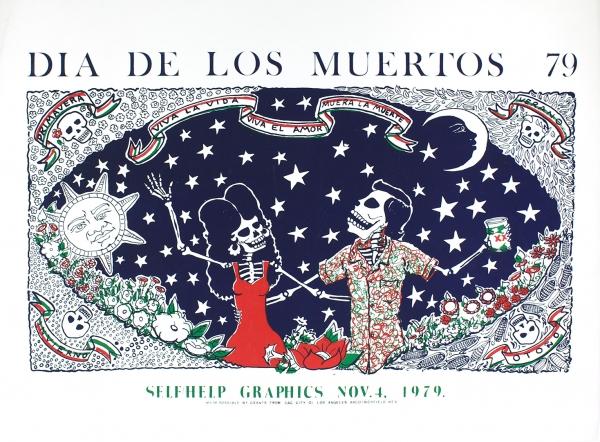 Alfredo de Batuc, Día de los Muertos, 1979. Copyright: Self Help Graphics & Art, Alfredo de Batuc