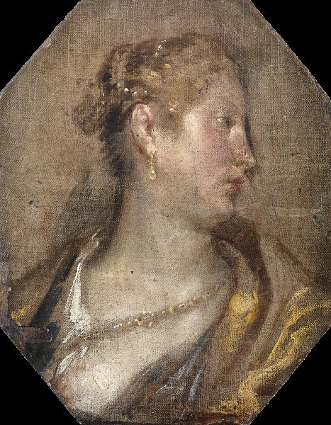 Diego Velázquez: 'Dama de perfil'