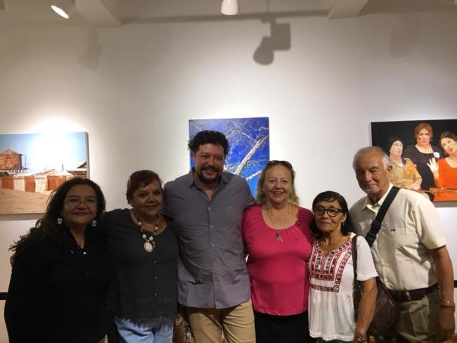 Amigos | Ir al evento: 'Reminiscencias'. Exposición de Artes gráficas, Pintura en Sala Mesanina - Biblioteca Regional Antofagasta / Antofagasta, Chile