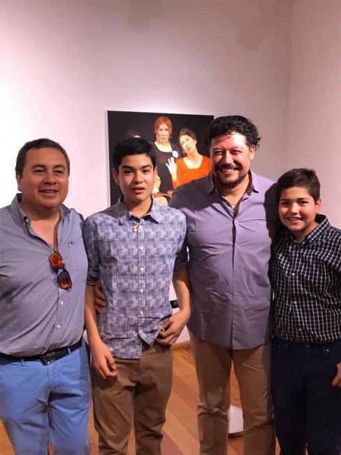 Familia | Ir al evento: 'Reminiscencias'. Exposición de Artes gráficas, Pintura en Sala Mesanina - Biblioteca Regional Antofagasta / Antofagasta, Chile