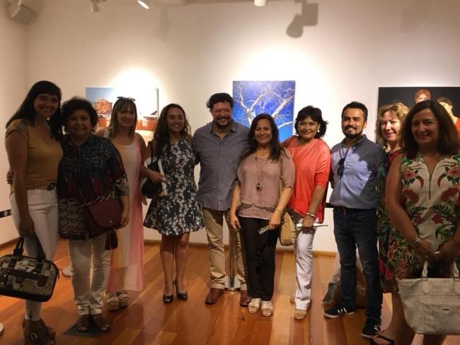 Pintores | Ir al evento: 'Reminiscencias'. Exposición de Artes gráficas, Pintura en Sala Mesanina - Biblioteca Regional Antofagasta / Antofagasta, Chile