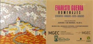 Evaristo Guerra. Homenajes