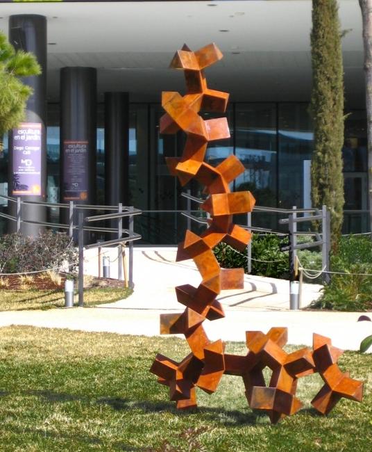 Escultura En El Jardin Exposicion Escultura Feb 2018 Arteinformado - Escultura-jardin