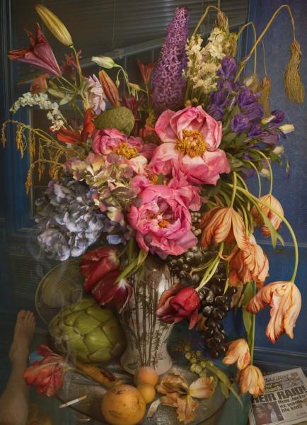 Earth laughs in flowers - wilting gossip, 2008-2011, Chromogenic Print ©David LaChapelle