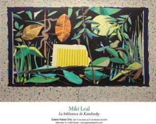 Miki Leal, La biblioteca de Kandinsky