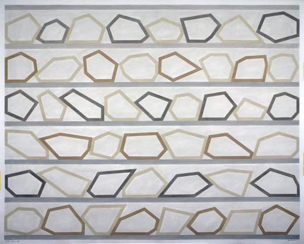 DAVID TREMLETT   Roll On # 1, 2016   Pastel sobre papel   122x152 cm