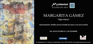 Margarita Gámez, Viaje interior