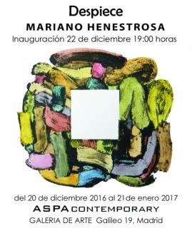 Despiece , de Mariano Henestrosa